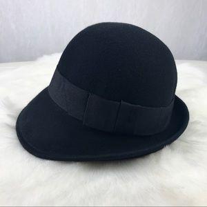 🔥NEW🔥 Forever 21 dark blue cloche hat